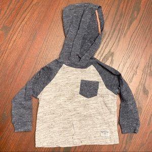 OshKosh B'gosh Long Sleeve Shirt with Hood